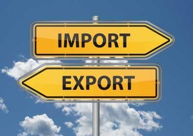 Commercio estero: aumentano le esportazioni