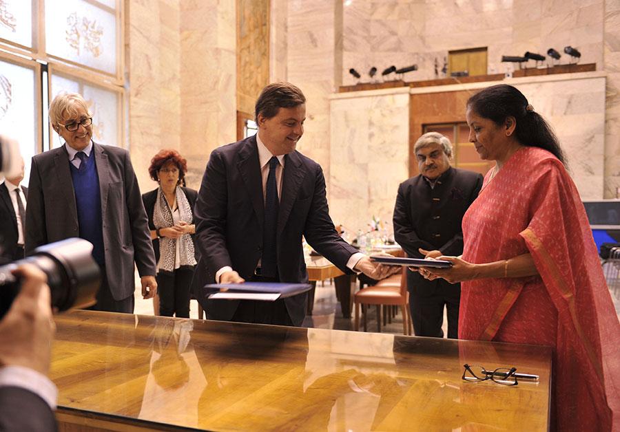 Italia – India, Commissione Mista cooperazione economica