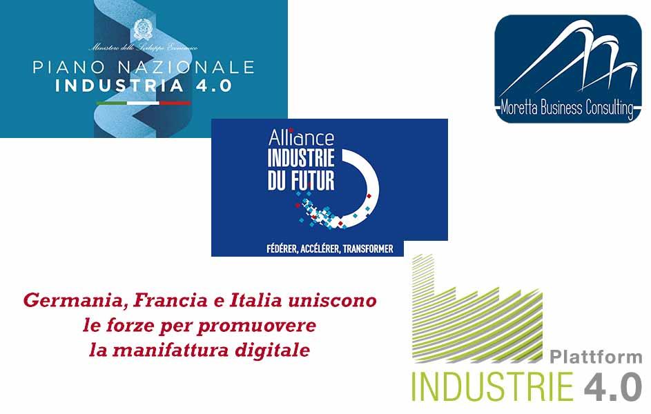 Germania, Francia e Italia uniscono le forze per promuovere la manifattura digitale