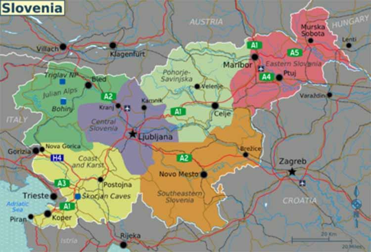 Mercati Internazionali, news dalla Slovenia