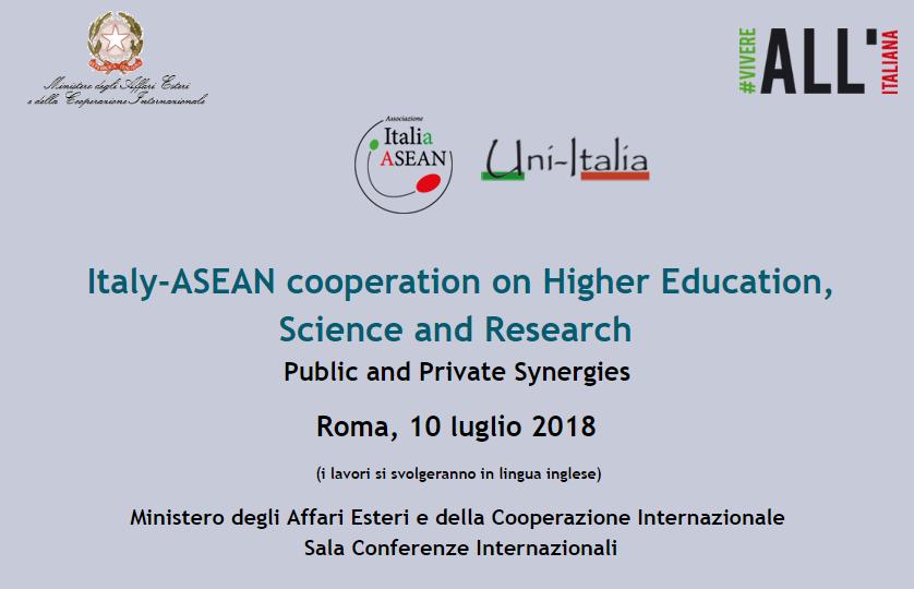 Convegno Italia-Asean